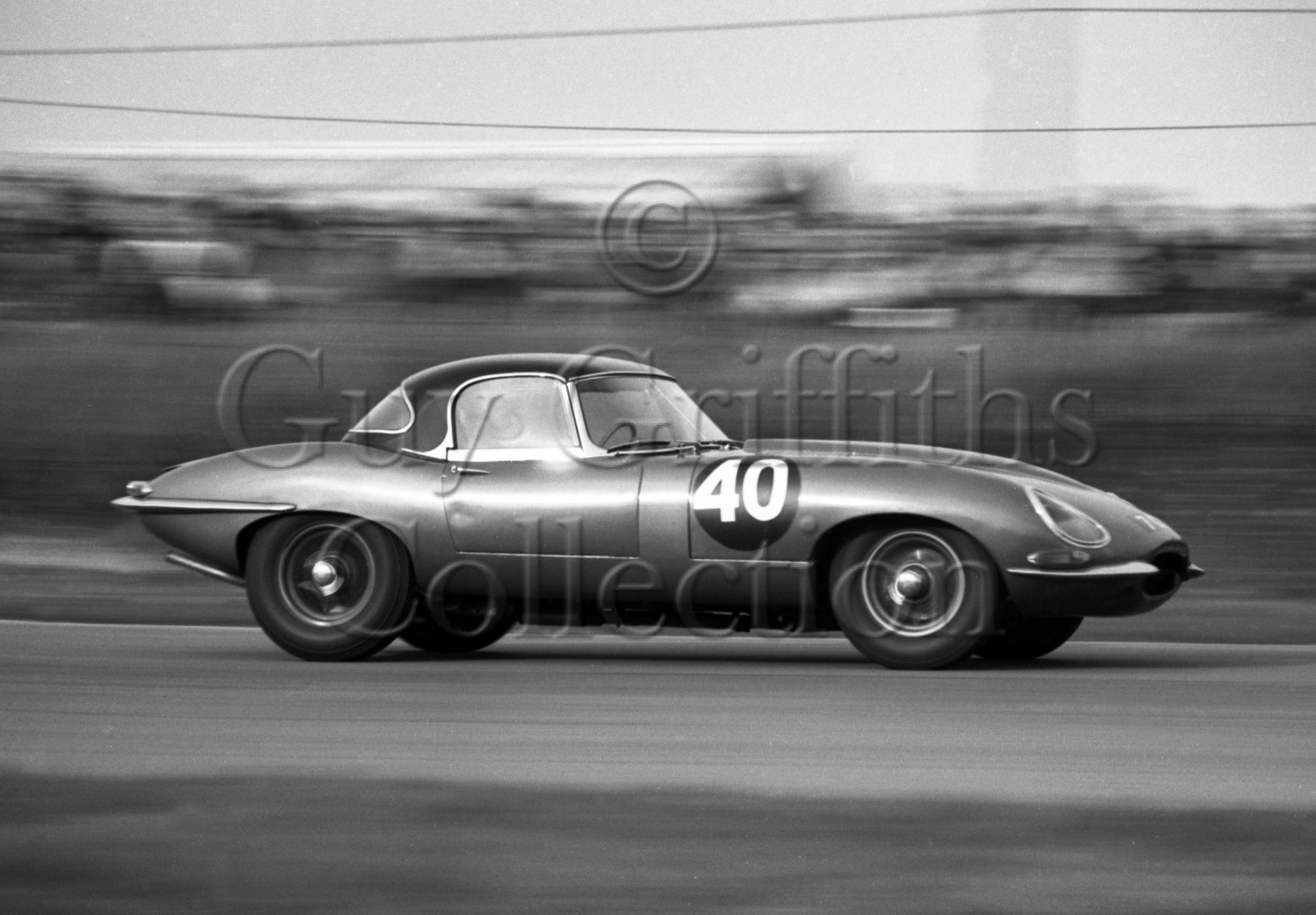 74-521–K-Baker–Jaguar-E-Type-7-CXW–Brands-Hatch–26-12-1962.jpg - Guy Griffiths Collection
