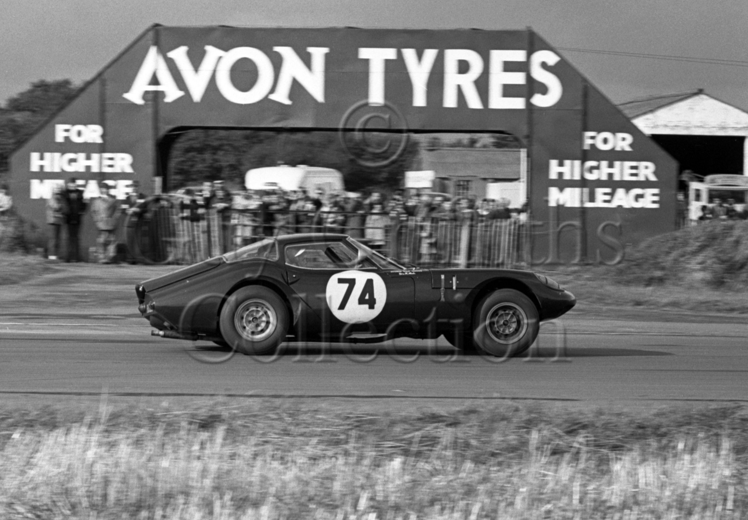 88-423–H-Steele–Marcos-GT-1771cc–Castle-Combe–10-10-1964.jpg - Guy Griffiths Collection