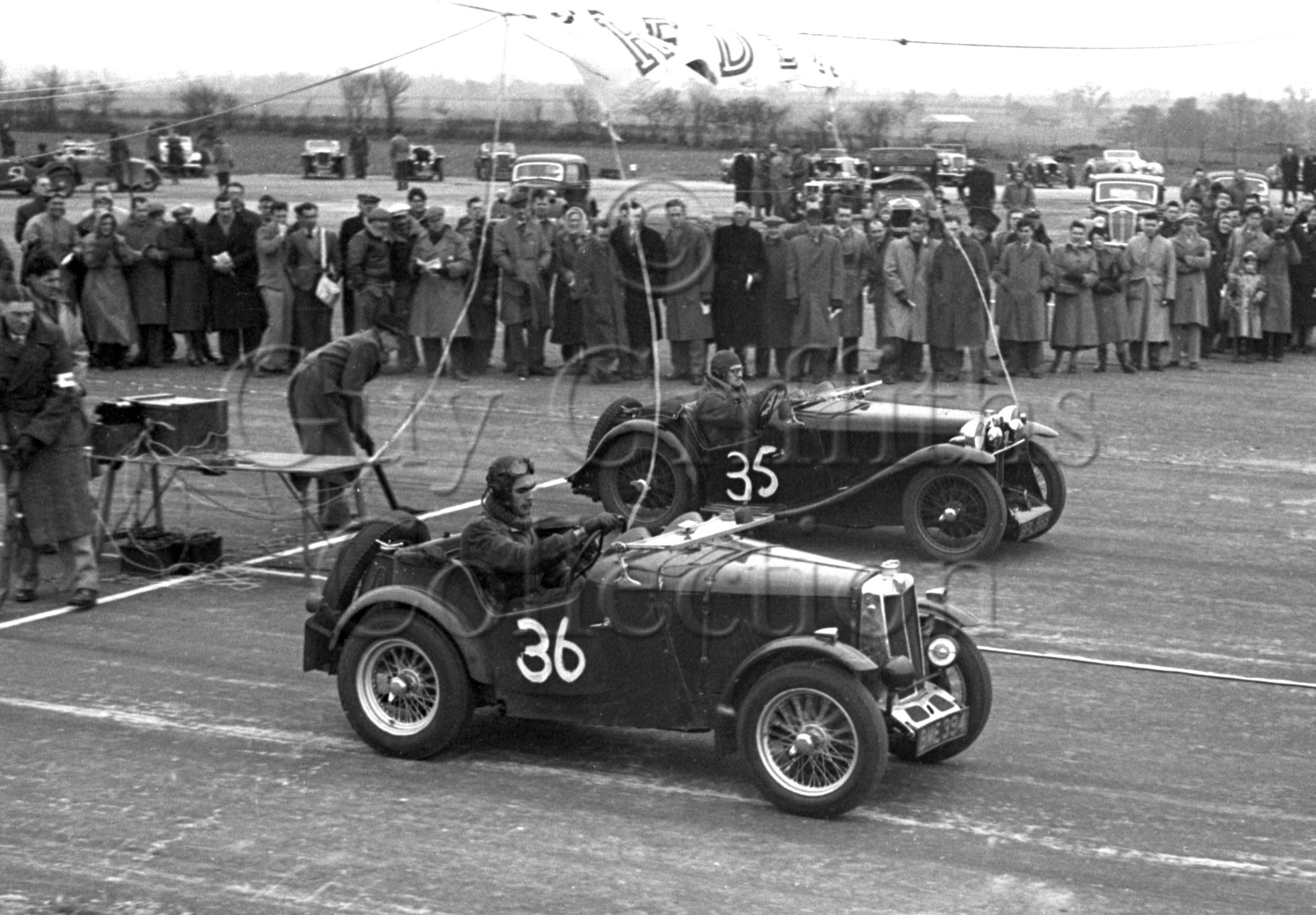 27-783–L-A-Miller-36–S-A-Mitchell-35–MG–WECC-Boreham–26-03-1950.jpg - Guy Griffiths Collection