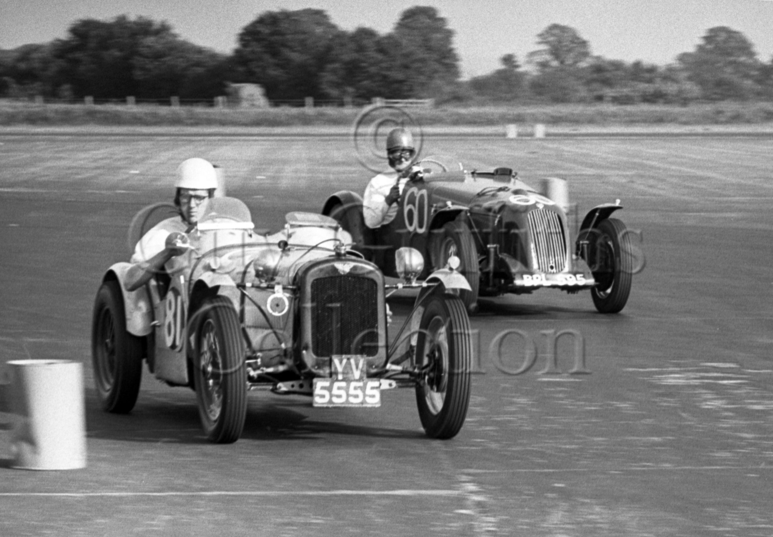 58-714–D-Lincoln-81–Austin–S-A-Mitchell-60–MG–Silverstone–2607-1952.jpg - Guy Griffiths Collection