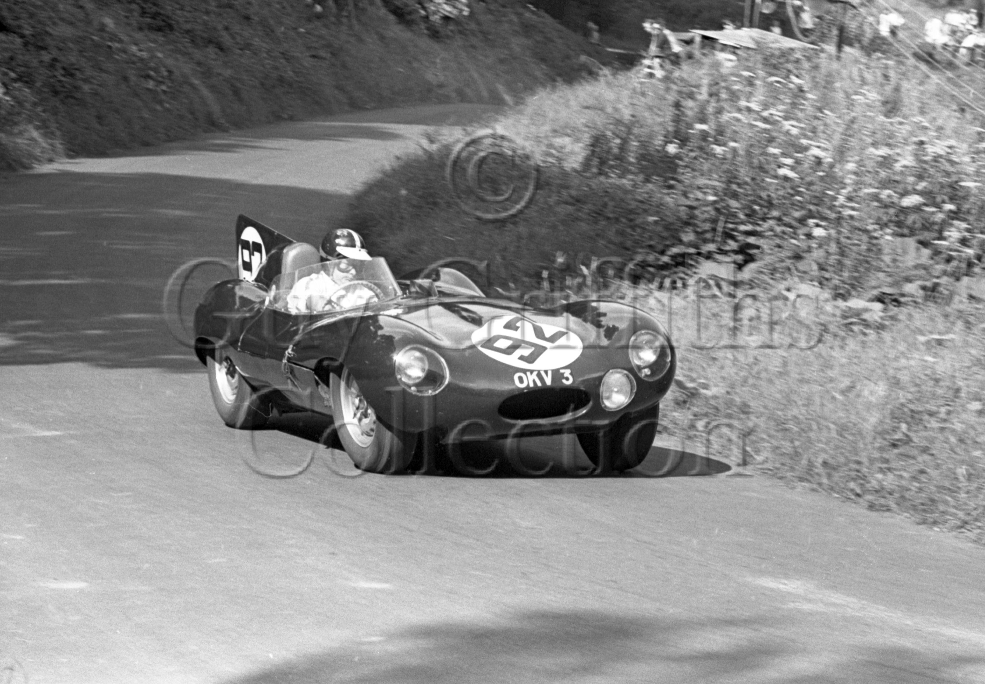 121-432–D-R-Good–Jaguar-D-Type-OKV-3–Shelsley-Walsh–17-08-1969.jpg - Guy Griffiths Collection