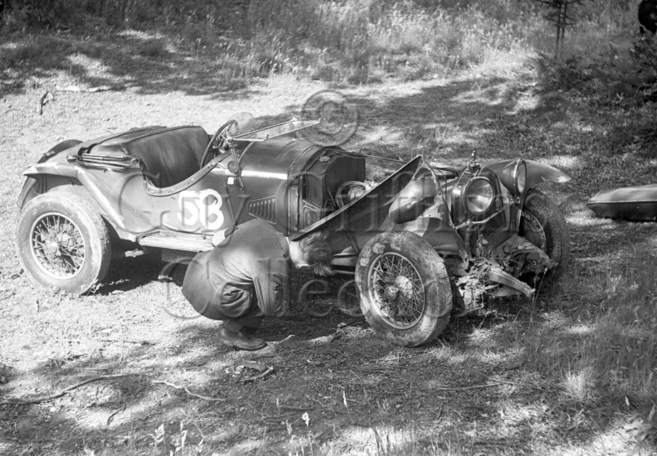 34-83–T-A-Ruffer–Alfa-Romeo–Great-Auclum–23-07-1950.jpg - Guy Griffiths Collection