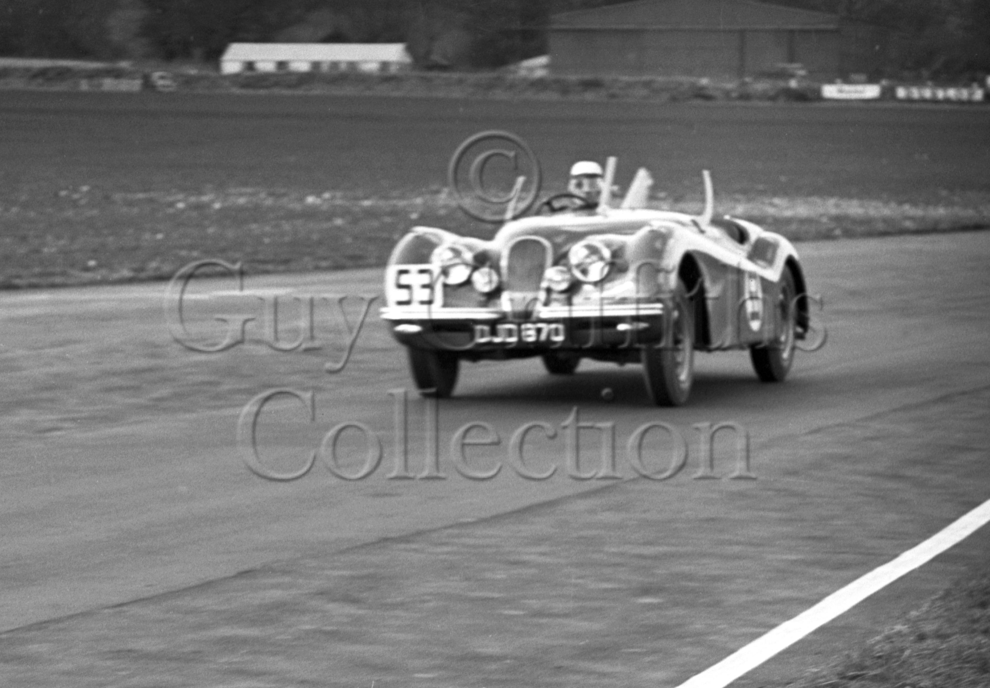 39-521–J-Rockman–Jaguar-DJD-870–Goodwood–26-03-1951.jpg - Guy Griffiths Collection